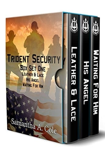Trident Security Series – Book Set One: Leather & Lace; His Angel; Waiting For Him
