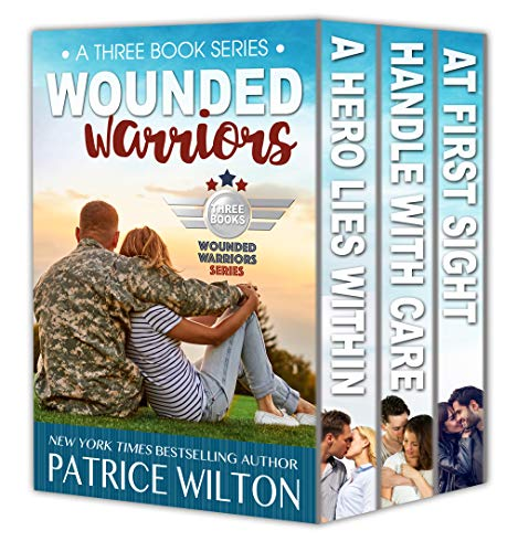 Wounded Warriors – 3 book set