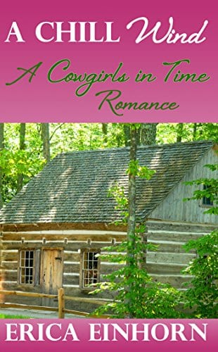 A Chill Wind (A Cowgirls in Time Romance Book 1)
