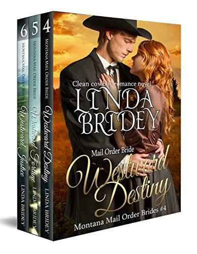 Montana Mail Order Bride Box Set (Westward Series) – Books 4 – 6: Historical Cowboy Western Mail Order Bride Bundle