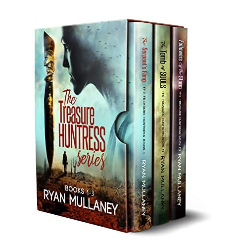 The Treasure Huntress Archaeological Action Adventure Series: Books 1-3 (The Treasure Huntress Box Set Book 1)