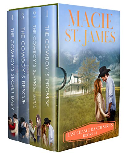 Last Chance Ranch Complete Collection: Four Clean Small-Town Western Romances