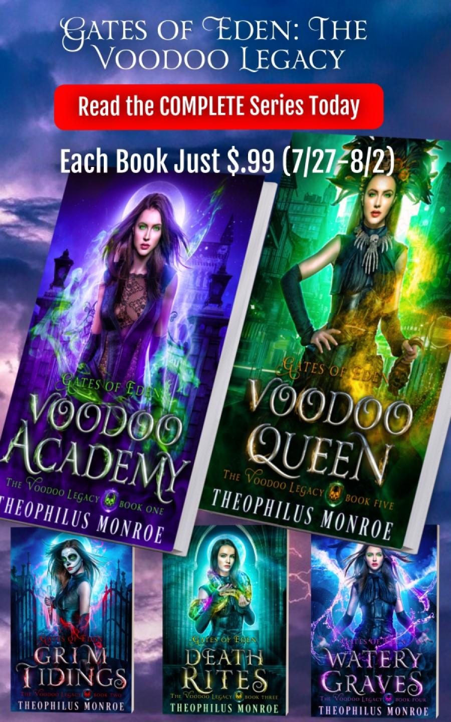 Gates of Eden: The Voodoo Legacy (5 book series)