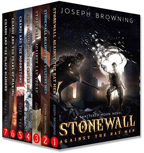 The Shattered Moon Series Boxed Set: Books 1-7
