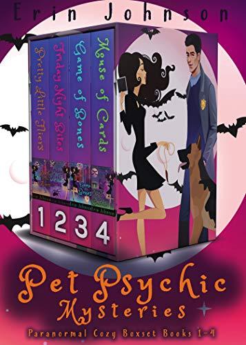 Pet Psychic Mysteries: Paranormal Cozy Boxset Books 1-4 (Magic Market Mysteries)