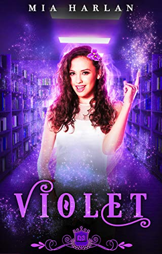 Violet: A Paranormal Reverse Harem Romance (Spell Library Book 1)