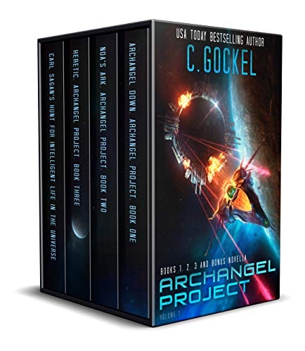 Archangel Project : Books 1 – 3 and Bonus Novella