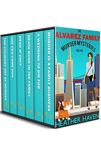 The Alvarez Family Murder Mysteries: Vol 1-6