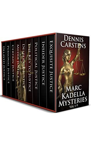 Marc Kadella Mysteries Vol 1-9 (A Marc Kadella Legal Mystery)