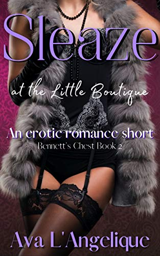 Sleaze at the Little Boutique: An Erotica Modern Single Girl Romantic Short (Bennett's Chest Book 2)