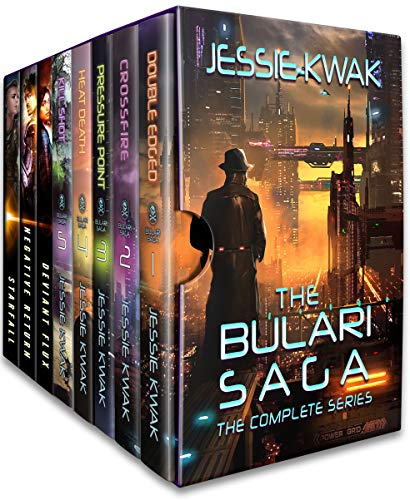 The Bulari Saga: The Complete Series (8 books): Sci-Fi Crime Thrillers