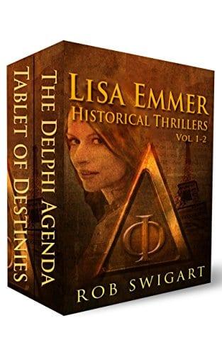 Lisa Emmer Historical Thrillers Vol. 1-2 (Lisa Emmer Historical Thriller Series)