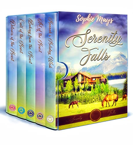 Sophie Mays' Serenity Falls series: Sweet Romance at Wyatt Ranch (Sweet, Small-Town Romance Collections)
