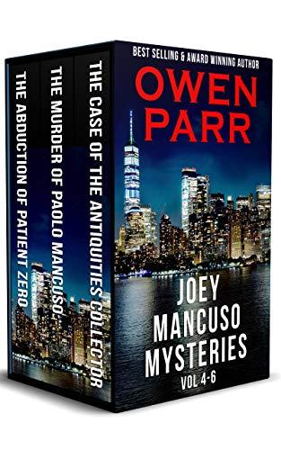 Joey Mancuso Mysteries: Volumes 4 – 6