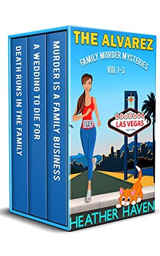 The Alvarez Family Murder Mysteries: Vol 1-3